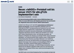 domainrecht.de