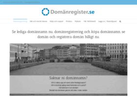 domanregister.se