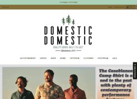 domesticdomestic.com