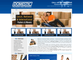 domesticpackersandmovers.com