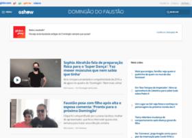domingaodofaustao.globo.com
