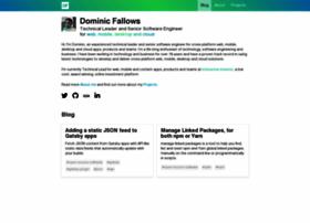 dominicfallows.co.uk