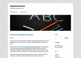 dominik-scholz.de