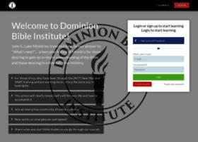 dominionbibleinstitute.com