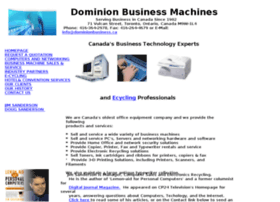 dominionbusinessmachines.com