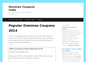 dominos-coupons.in