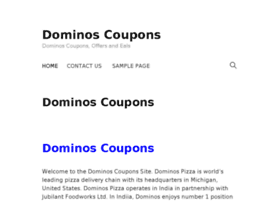 dominoscoupons.co.in