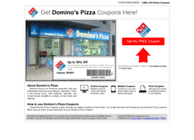 dominospizza.couponrocker.com