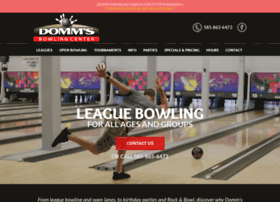 dommsbowling.com