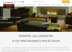 domotelleslazaristeshotelthessaloniki.com