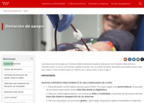 donarsangre.sanidadmadrid.org