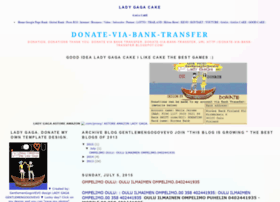 donate-via-bank-transfer.blogspot.de