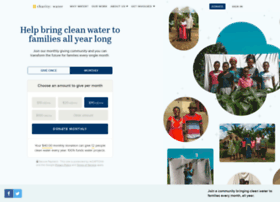 donate.charitywater.org