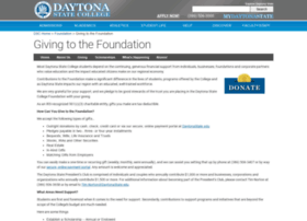 donate.daytonastate.edu