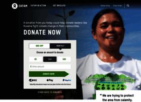 donate.oxfam.org.uk