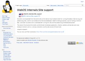 donate.webos-internals.org