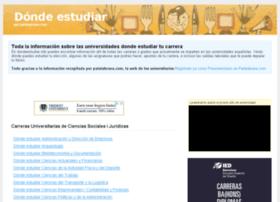 dondeestudiar.info