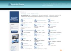 dondemequeda.com