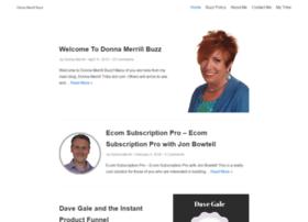 donnamerrillbuzz.com