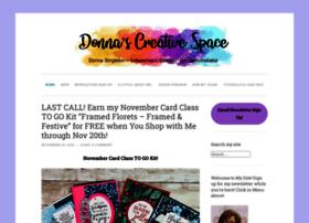 donnascreativespace.com
