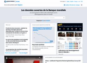 donnees.banquemondiale.org
