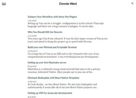 donniewest.com