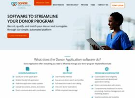 donorapplication.com
