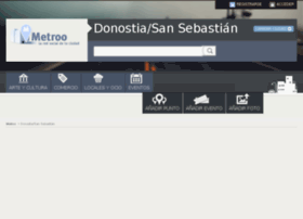 donosti.metroo.es