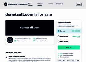 donotcall.com