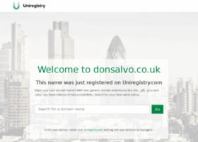 donsalvo.co.uk