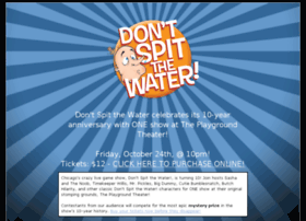 dontspitthewater.com