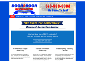 door2doorshredding.com