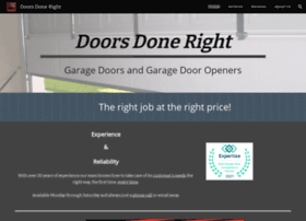 doorsdoneright.com