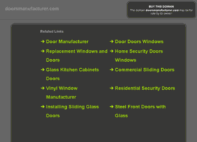 doorsmanufacturer.com