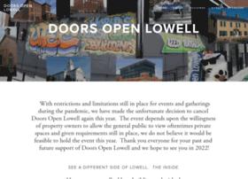 doorsopenlowell.org