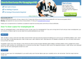 doortodoorloansforunemployeduk.co.uk