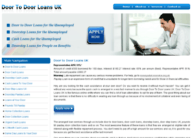 doortodoorloansuk.co.uk