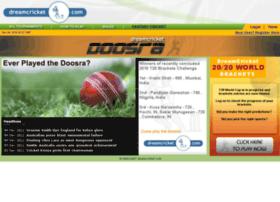 doosra.dreamcricket.com