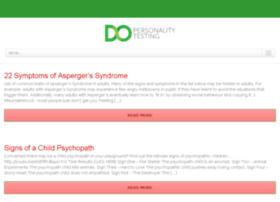 dopersonalitytest.com