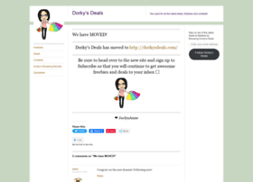 dorkysdeals.wordpress.com