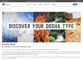 doshaquiz.chopra.com