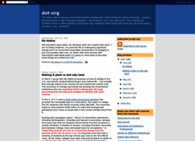 dot-org.blogspot.co.uk