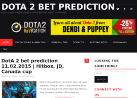 dota2betsprediction.com