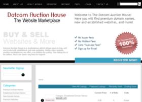dotcomauctionhouse.com