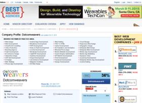 dotcomweavers-inc.bestwebdesignagencies.com