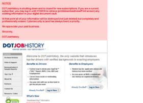 dotjobhistory.com