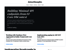 dotnetthoughts.net