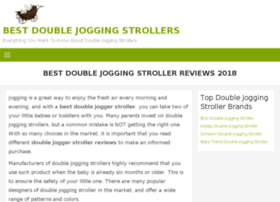 doublejoggerstrollerreviews.com