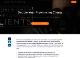 doubleyourfreelancing.usefedora.com