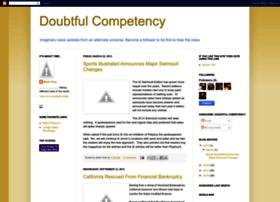 doubtfulcompetency.blogspot.co.uk